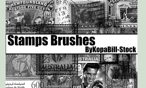 Скачать Stamps Brushes