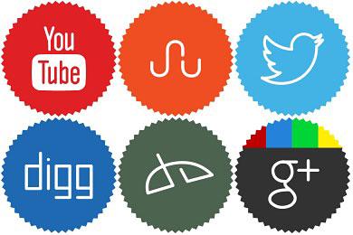 Скачать Minimalist Social Icons