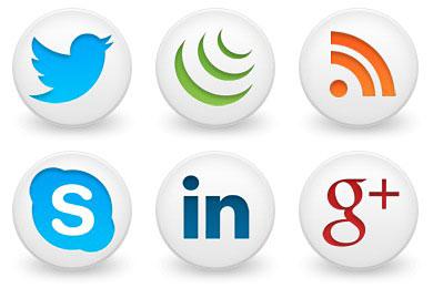 Скачать Round Social Icons