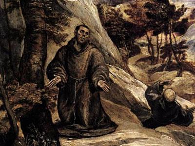 Св. Франциск получает стигматы