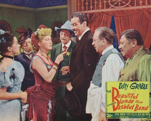 Beautiful Blonde From Bashful Bend (1949)
