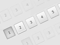 Создаем в фотошопе кнопки постраничной навигации в стиле YouTube