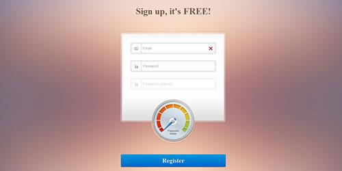 Перейти на Регистрационная форма