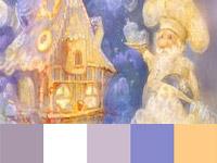 20 готовых цветовых палитр с картин художницы Smokepaint