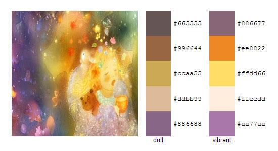 Палитра цветов с картин Smokepaint 3