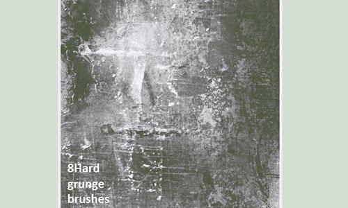 Скачать 8 Hard Grunge Brushes