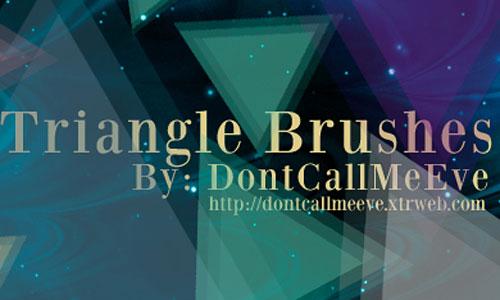 Скачать Triangle Brushes