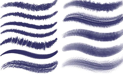 Скачать PS Brushes Set 3 Dark Textured Brushes