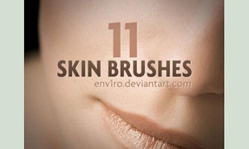 Скачать Skin Photoshop Brushes