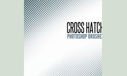 Скачать Brushes Cross Hatch