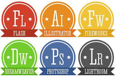 Скачать Retro Adobe Icons