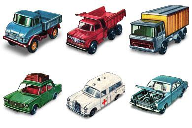 Скачать 1960 Matchbox Cars Icons