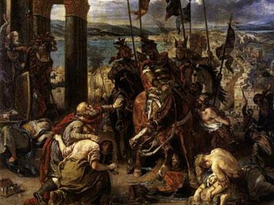 Взятие крестоносцами Константинополя