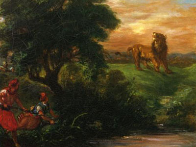 Львиная охота