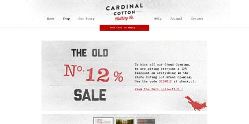 Перейти на Cardinal Cotton