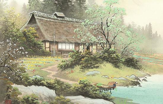 Молчаливое очарование японских пейзажей от художника Koukei Kojima