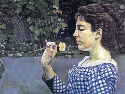 Portrait of Helene Weigle