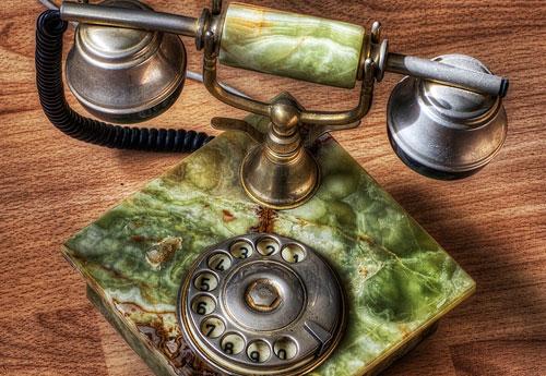 Перейти на Old Dial Phone