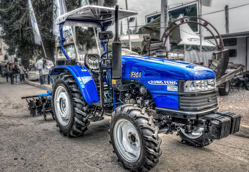 Перейти на Blue Tractor