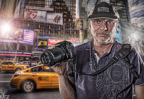 Перейти на Photographer In Times Square