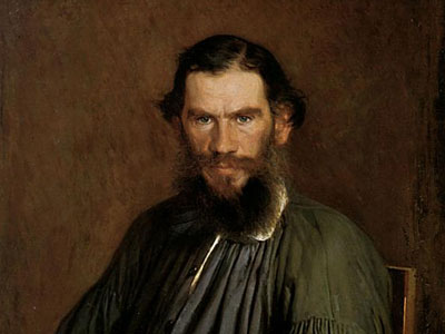 Portrait of Leo Tolstoy, 1873