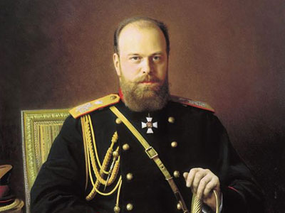 Portrait of Alexander III, 1886