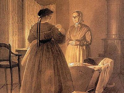 Семья художника, 1866