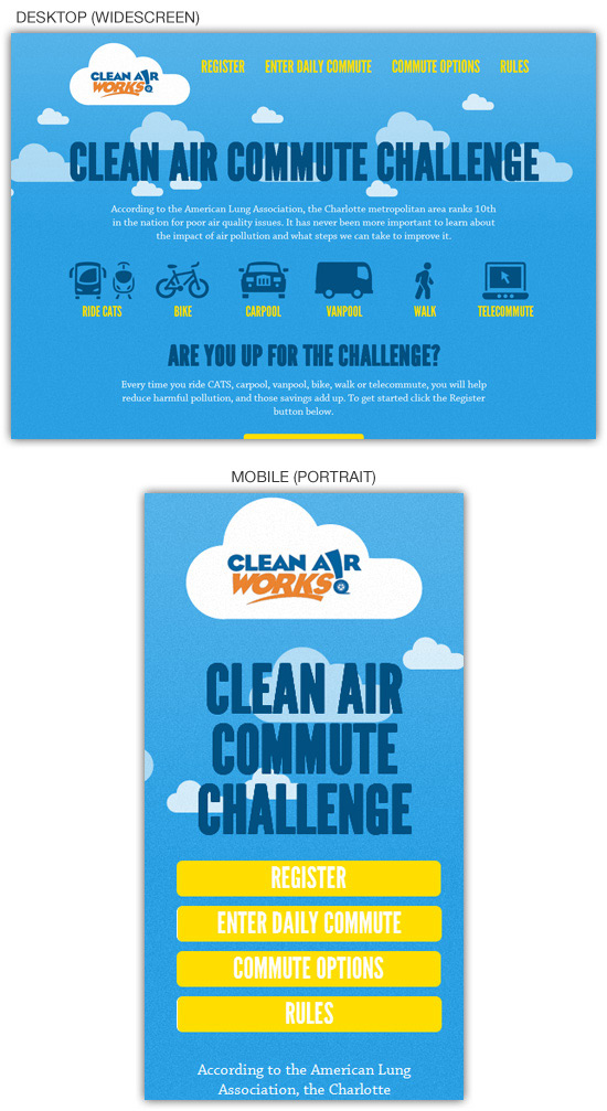 Перейти на Clear Air Challenge