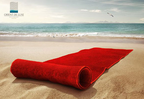 Перейти на Orient De Luxe Red Towel
