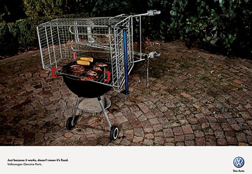 Перейти на Volkswagen Genuine Parts Braai