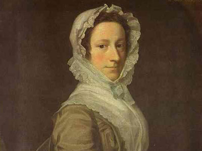 Portrait of Janet Dick, 1748