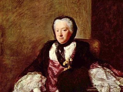 Portrait of Mary Atkins (Mrs. Martin), 1761
