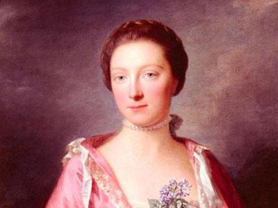 Portrait Of Elizabeth Gunning, Duchess Of Argyll, 1760