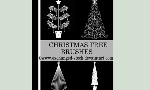 Скачать Christmas Tweee Brushes