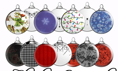 Скачать Christmas Ornament PS Brushes