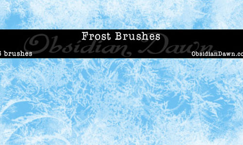 Скачать Frost Texture Brushes