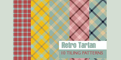 Скачать Retro Tartan - 10 Patterns