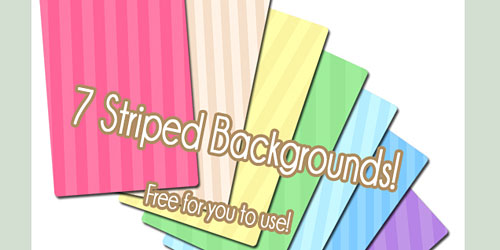 Скачать 7 Free Striped Backgrounds