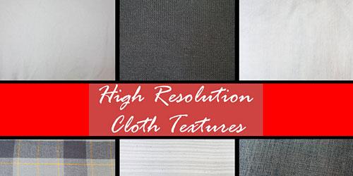 Скачать Hi Res Cloth Texture Pack