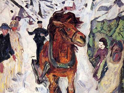 Конь на скаку, 1912