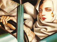 Магнетизм и очарование картин художницы Тамара де Лемпицка