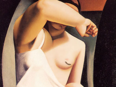 Натурщица, 1925