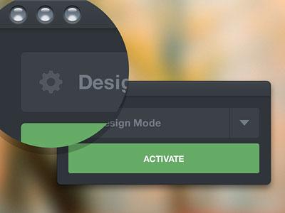 Перейти на Design Mode