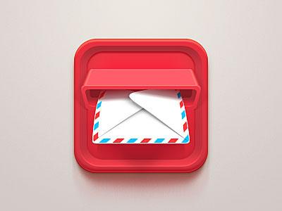 Перейти на Mail Icon