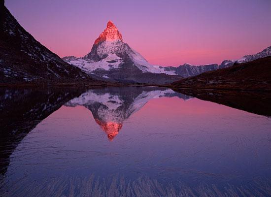 Matterhorn Lake Zermatt