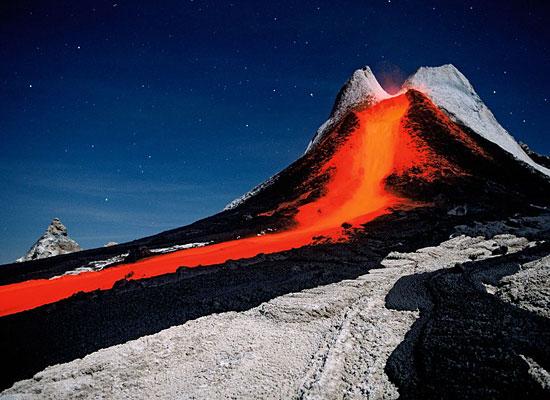 Volcano Lava Tanzania