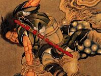 Традиционные японские суримоно от художника Кацусика Хокусай