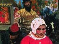 Московский быт и жанровые сценки от художника Андрея Рябушкина