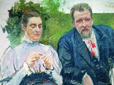 Портрет И.Ф.Тюменева с женой