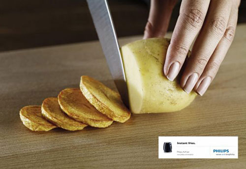 Philips Airfryer: Potato